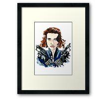 Black Widow Framed Print