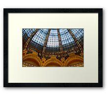 Galeries Lafayette Framed Print