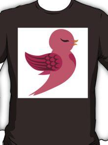 Single cartoon bird flying T-Shirt