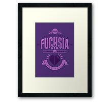 Fuchsia Gym Framed Print