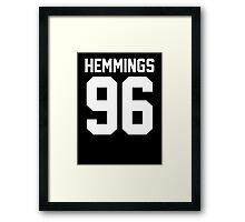 #LUKEHEMMINGS, 5 Seconds of Summer  Framed Print