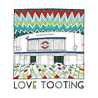 Love Tooting by Ludwig Wagner