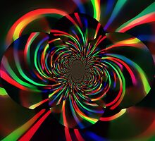 rainbow vortex by DARREL NEAVES