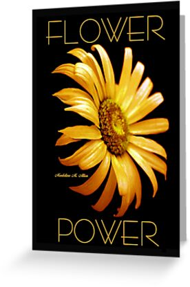 FLOWER POWER by Madeline M  Allen