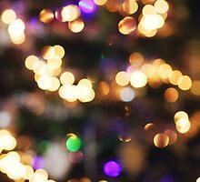Christmas Bokeh'' by Karin Elizabeth