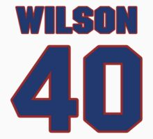 National football player Marcus Wilson jersey 40 by imsport