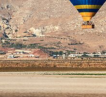 Hot air balloon photographed in the Jezreel Valley, Israel  by PhotoStock-Isra