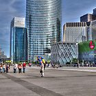 La Defense, Paris, France by Elaine Teague