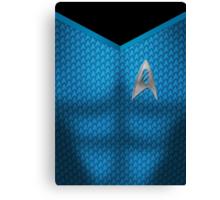Star Trek Series - Scientist Suit - Spock Canvas Print