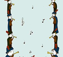 Eleven Pipers Piping by SVaeth