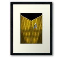 Star Trek Series - Captain Suit - Kirk Framed Print