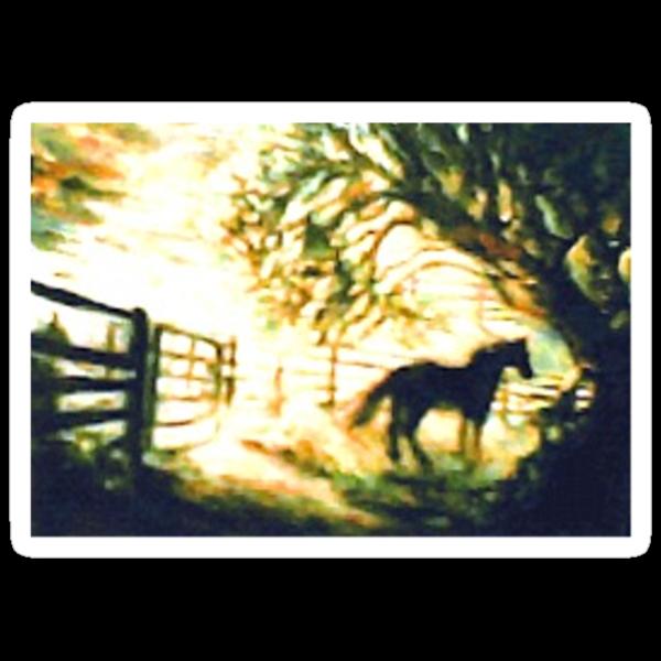 SUNRISE HORSE - Cowboy Country by Barbara Sparhawk