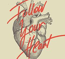 FOLLOW YOUR HEART by Magdalena Mikos