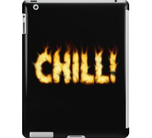 SOLD - SMOKIN' HOT TYPOGRAPHY iPad Case/Skin