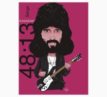 Sergio Pizzorno - Kasabian - Caricature T-Shirt