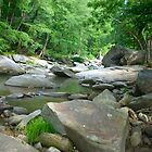 Mountain River NC by Angelik99