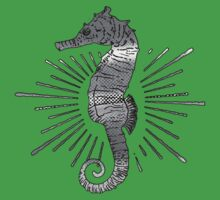 Seahorse with Good Vibes Kids Clothes