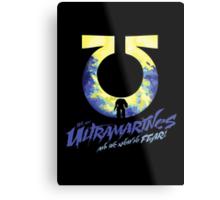 Ultramarines - Know no fear Metal Print