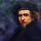 Rembrandt by saleire