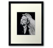 Friend In Art - Chuck Vest Framed Print