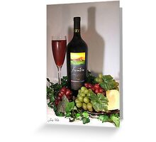 Wine 4 Greeting Card