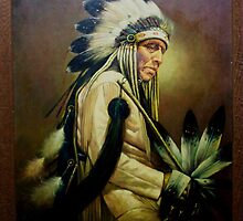Native American Composite by Maureen Bloesch