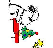 Merry Snoopy by gaberje