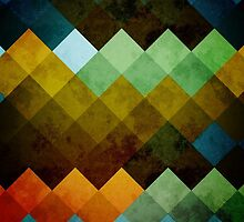 Abstract Cubes BYG by robozcapoz