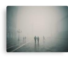 Fog in San Marco, Venice, Italy (#2) Canvas Print