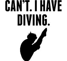 Can't I Have Diving by kwg2200