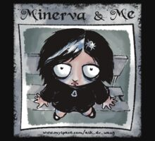 Minerva and Me - Comic cover by askdrwang