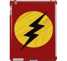 Grunge Lightning Bolt. iPad Case/Skin