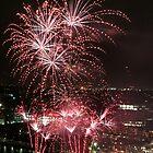Fireworks by Sebastian J. de Koning