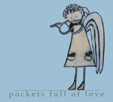 pockets full of Love 1 T-Shirt by Midori Furze