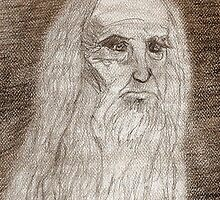 Leonardo Da Vinci by mysteryfaith