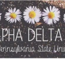 Alpha Delta Pi Sticker