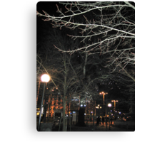 New Year´s Eve in the City Canvas Print
