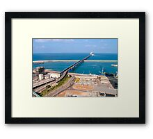 Bring from sea Framed Print