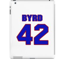 National football player Butch Byrd jersey 42 iPad Case/Skin