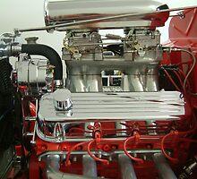 Streetrod Motor by tvlgoddess