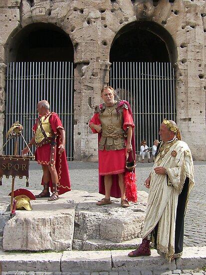 Friends, Romans, Countrymen ... by Tom Gomez