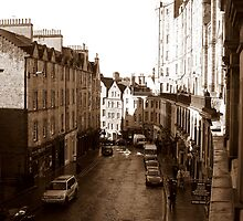 Old Town Edinburgh by Leah Homan