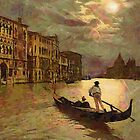 Grand Canal, Venice, Italy 19th century - all products bar duvet by Dennis Melling