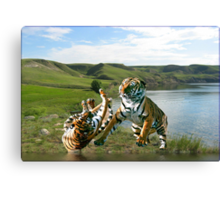 NA712-Masters of the Wild Canvas Print