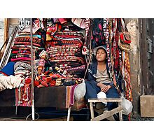 People 4369 Sucre, Bolivia Photographic Print
