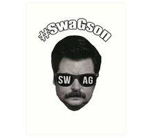 #SwagSon Is Here! Art Print
