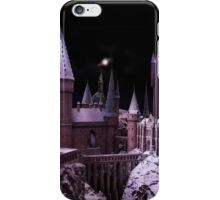 Hogwarts castle in the snow iPhone Case/Skin