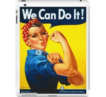 Rosie the Riveter - Recruitment  Poster iPad Case/Skin