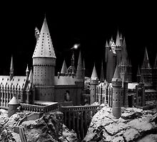 Hogwarts castle, the school of wizardry by miradorpictures