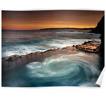 Bogey Hole Whirlpool Poster